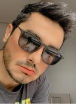 Óculos para homens de sol quadrado lente escura famoso - Prsr
