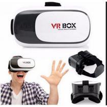 Óculos Realidade Virtual 3d Com Controle - Vr Box 2.0 - Universal -