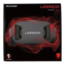 Óculos Realidade Virtual 3d Gamer Warrior Vr Headphone - Multilaser