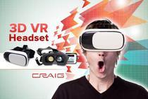 Óculos Realidade Virtual Vr Craig Eletronics - 5S