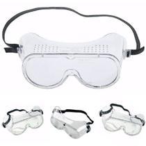 Óculos Segurança Com Área De Respiro Ampla Visão Carbografitte - Carbografite -