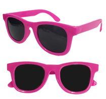 Óculos Sol Infantil Criança Unissex Com Proteção Uv400 - Rosa Pink - Joli Monde
