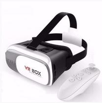 Oculos Vr Box 2.0 Realidade Virtual 3d + Controle Bluetooth - VGlass