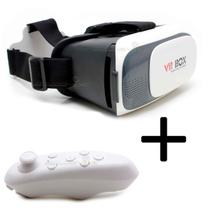 Óculos Vr Box 2.0 Realidade Virtual + Controle Cardboard 3d - Astro Mix