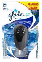 Odorizador Automotivo Glade Auto Sport Acqua 7ml + Aparelho off -