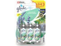 Odorizador de Ambiente Spray Refil Glade Toque de - Frescor de Águas Florais 12ml 3 Unidades