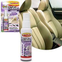 Odorizante Spray Para Carro Stop Cheiro Lavanda New Fresh Luxcar 2 em 1 Renova e Perfuma -