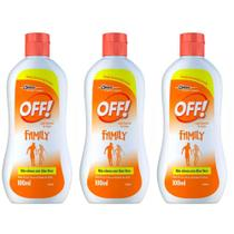 Off Family Loção Repelente 100ml (Kit C/03) -
