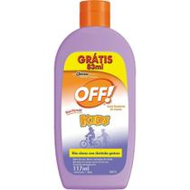 OFF KIDS LOCAO Leve 200ml Pague 117ml -