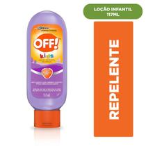 Off! loção repelente de insetos kids 117ml - Sc Johnson