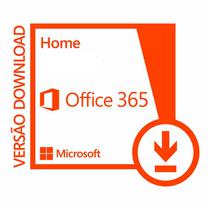 Office 365 Home 32/64 Assinatura 1 ANO Download - Vitrine