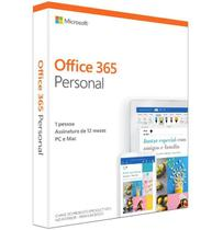 Office 365 Personal Assinatura Anual (Word Excel PowerPoint Outlook 1TB Armazenamento no OneDrive) - Microsoft
