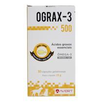 Ograx 3 500mg 30 Cápsulas - Avert