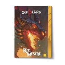 Old Dragon Kit do Mestre Livro de RPG Red Box RBX01014 - Buró Red Box