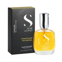 Óleo Capilar Alfaparf Semi Di Lino Sublime Cristalli Liquid - 30ml -