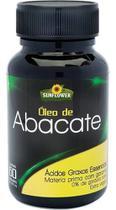 Óleo De Abacate 1400mg 60 Cápsulas - Sunflower -