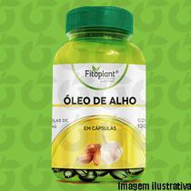 Óleo de Alho 60 Cápsulas 250mg Fitoplant -