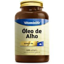 Oleo de Alho Garlic Oil 250mg - Alicina 120 cápsulas - VitaminLife -