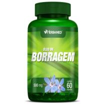 Óleo de Borragem - 60 Cápsulas - Herbamed -