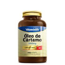Óleo de Cártamo 1000mg 200 softgels Vitaminlife -