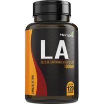 Oleo De Cartamo LA 1000mg 120 Cápsulas Melcoprol -