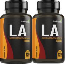 Oleo De Cartamo LA 1000mg 2x120 Cápsulas Melcoprol -