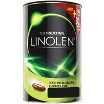 Óleo de cártamo linolen (90 cápsulas) - nutrilatina -