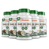 Óleo De Coco 5x120 Cápsulas 1000mg Extravirgem Prensado A Frio - Melcoprol