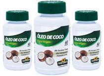 Óleo De Coco1400mg 3 X 60 Cápsulas - Sunflower -