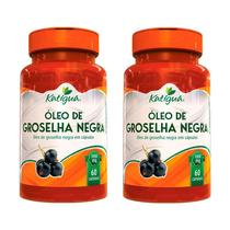 Óleo de Groselha Negra -2x 60 Cápsulas - Katigua -
