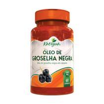 Óleo De Groselha Negra 60 Cps 1000 Mg Katigua -