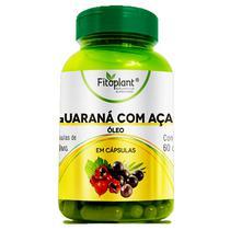 Óleo de Guaraná com Açaí 90 Cápsulas 500mg Fitoplant -