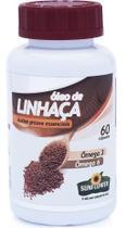 Óleo De Linhaça ( Ômega 3 E 6) 700mg 60 Cápsulas - Sunflower -