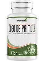 Óleo de prímula 1000mg - suplemento alimentar 120 capsulas melcoprol -