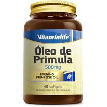 Óleo de Prímula 500mg - 45 Softgels - VitaminLife -