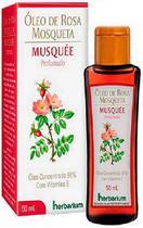 Óleo de Rosa Mosqueta 50mL rugas cicatriz hidratante Musquee - Herbarium