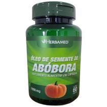 Óleo de Semente de Abóbora - 60 Cápsulas - Herbamed -