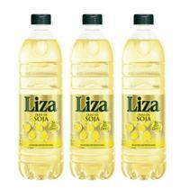 Óleo de Soja LIZA Pet 900 ML Kit com 3 Unidades - Lisa