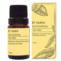 Óleo Essencial de Tea Tree (Melaleuca) 10 ml - Bysamia