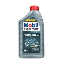 Óleo Lubrificante 10W-30 MX Mobil Super Moto (1 Litro) -