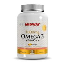 Omega 3 1000mg - 120Caps - Midway -