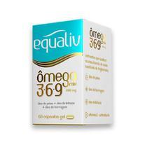 Omega 3 6 9 Mix 1000mg 60 caps Equaliv -