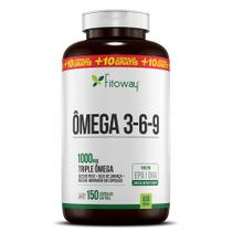 Ômega 3-6-9  óleo de peixe 150 caps - fitoway farma -