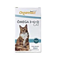Ômega 3+6+D Cat 30ml - Organnact -