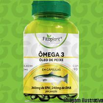 Ômega 3 90 Cápsulas 1000mg Fitoplant -