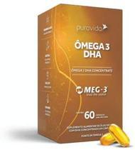Ômega 3 DHA 60 Cápsulas - Pura Vida -