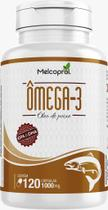 Ômega 3 Óleo De Peixe 1000 mg 120 Cápsulas Dha Epa - 2 Ao Dia Melcoprol -