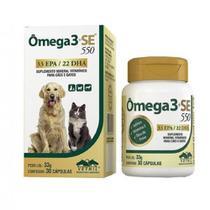 Omega 3 Se 550 - 30 Capsulas - Vetnil