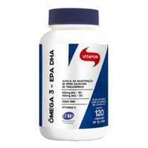 Ômega 3 Vitafor Omegafor Epa Dha C/120 Cáps Óleo De Peixe -