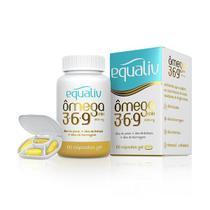 Ômega Mix 3, 6, 9 com 60 cápsulas Equaliv -